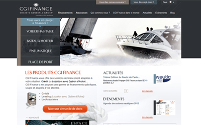 cgi finance cr dit bateau loa et assurances cgmer. Black Bedroom Furniture Sets. Home Design Ideas
