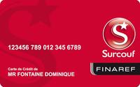 Carte Surcouf Finaref