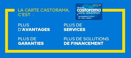 carte crédit castorama