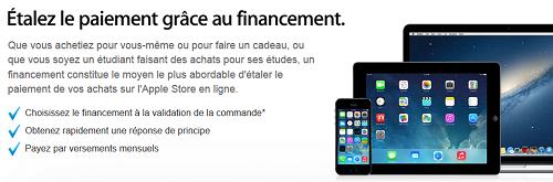 crédit Apple Sofinco