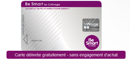 carte be smart cofinoga