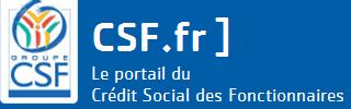 csf crédit social fonctionnaire