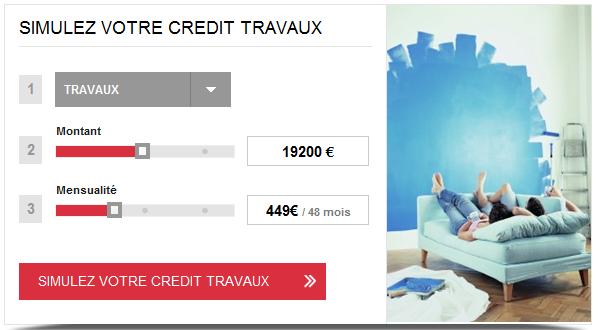 Simulateur franfinance pr parer votre demande de pr t - Simulation pret travaux cetelem ...