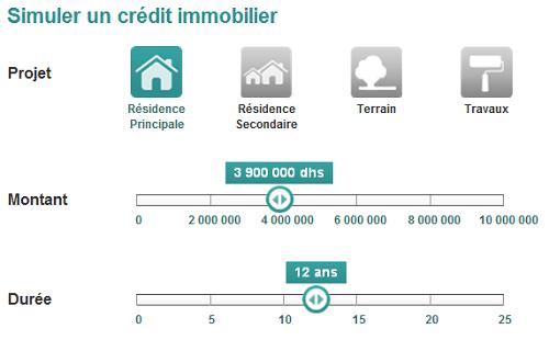 simulation bmci crédit immobilier