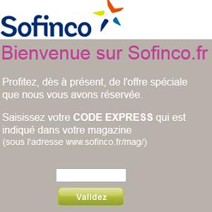 suivi credit sofinco