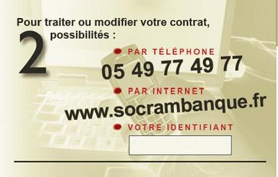 contact socram banque t l phone adresse espace client. Black Bedroom Furniture Sets. Home Design Ideas