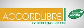 banque accordlibre crédit renouvelable