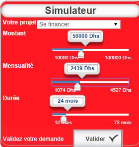 simulateur de crédit axa maroc