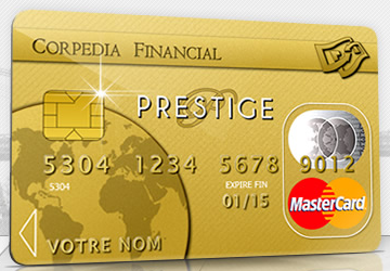 carte mastercard corpedia rechargeable