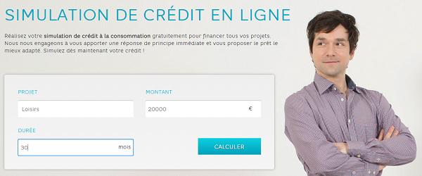 simulation crédit Hello Bank