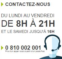 contact monabanq service client