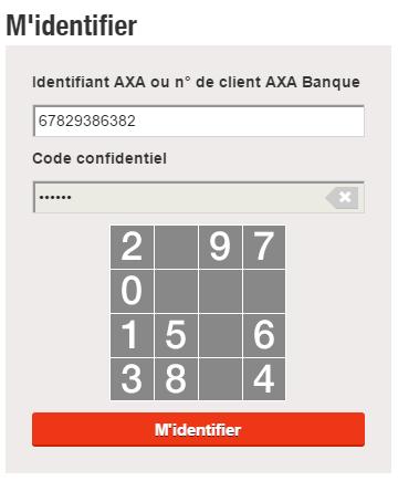 espace client Axa Banque
