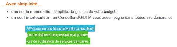 avantages regroupement de crédits bfm