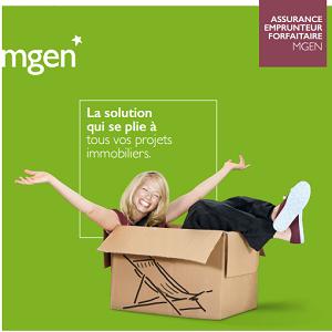 assurance prêt immobilier MGEN