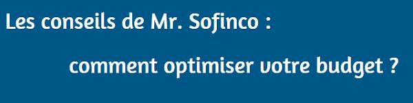 conseils crédit conso Sofinco