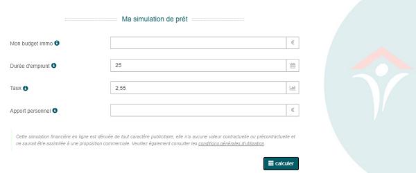simulation en ligne de rachat de prêt immoblier crédit foncier