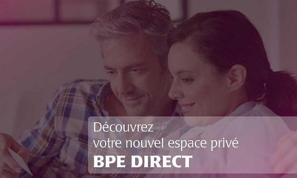 accès à BPE Direct